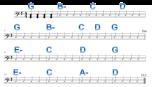 a. G major, 4/4 meter, 24 measures