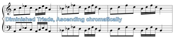 CH5) Triad Practice - Chromatic Scale
