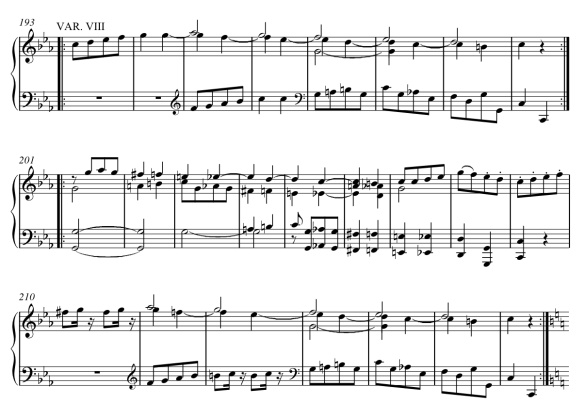 CH3) Creative Project, Mozart's Theme and Variation VII